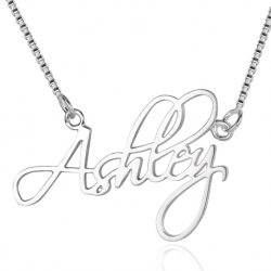Elegant name necklace