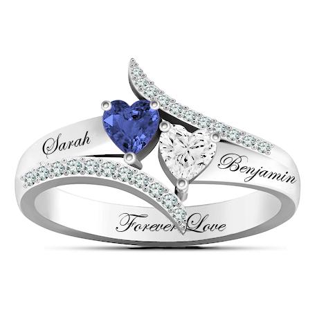 Bague coeur diamant