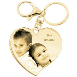 Stylish heart key chain