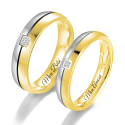 Ensemble bague couple