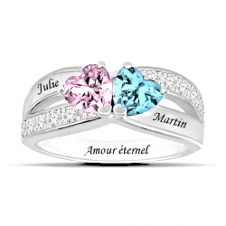 Bague promesse d'amour OR