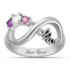 mom infinity ring