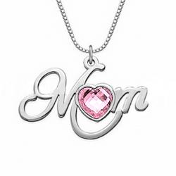 Pendentif MOM coeur