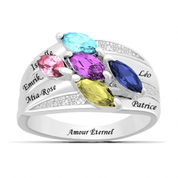 Bague famille marquise OR