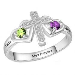 personalized couple ring