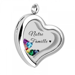 Stylish heart locket