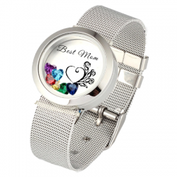 Bracelet montre locket