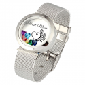 Bracelet montre locket