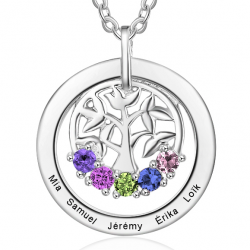 tree of life family pendant