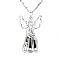 Cremation pendant angel