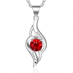 Love twist pendant