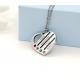 Family heart pendant