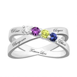 Family mother ring