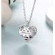 Heart cage pendant