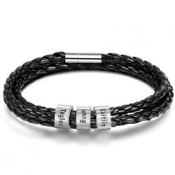 Bracelet cuir Famille-3