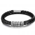 Bracelet cuir Famille-4