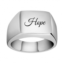 Classic signet ring unisex