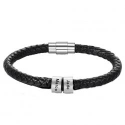 Bracelet cuir unique Famille-2