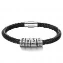 Bracelet cuir unique Famille-4