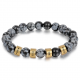 Bracelet unisexe LABRADORITE famille-2