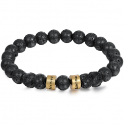 Unisex bracelet LAVA STONE family-2