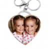 Porte-clés Imposant Coeur Tiffany photo couleur
