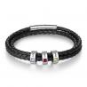 Bracelet cuir naissance Famille-3