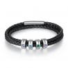 Bracelet cuir naissance Famille-4