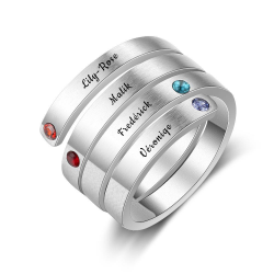 personalized mother ring