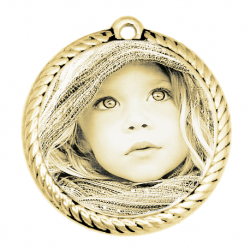 Little round rope gold